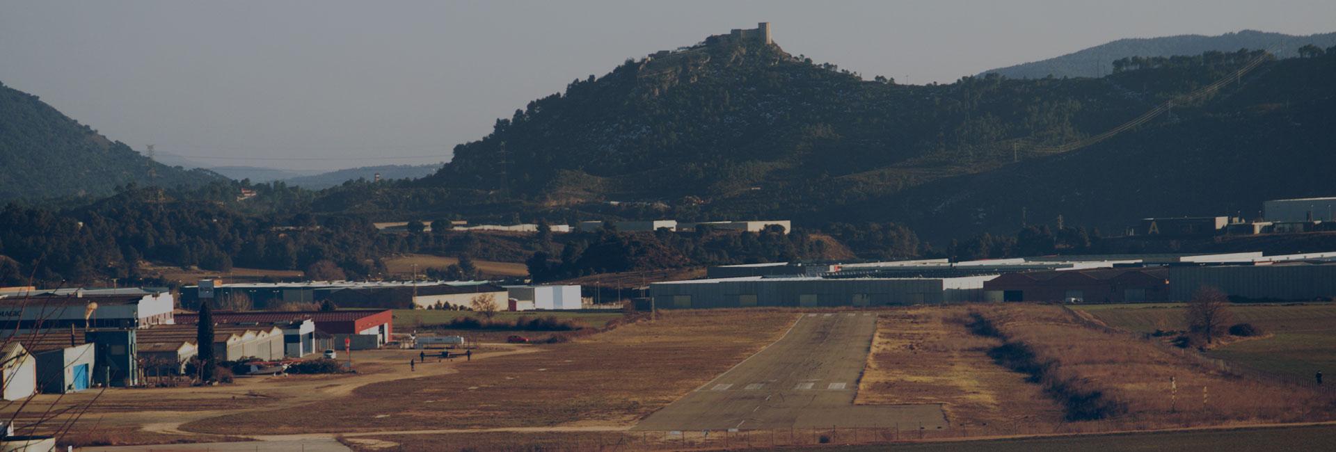 Tancament de l'aeròdrom d'Igualada-Òdena
