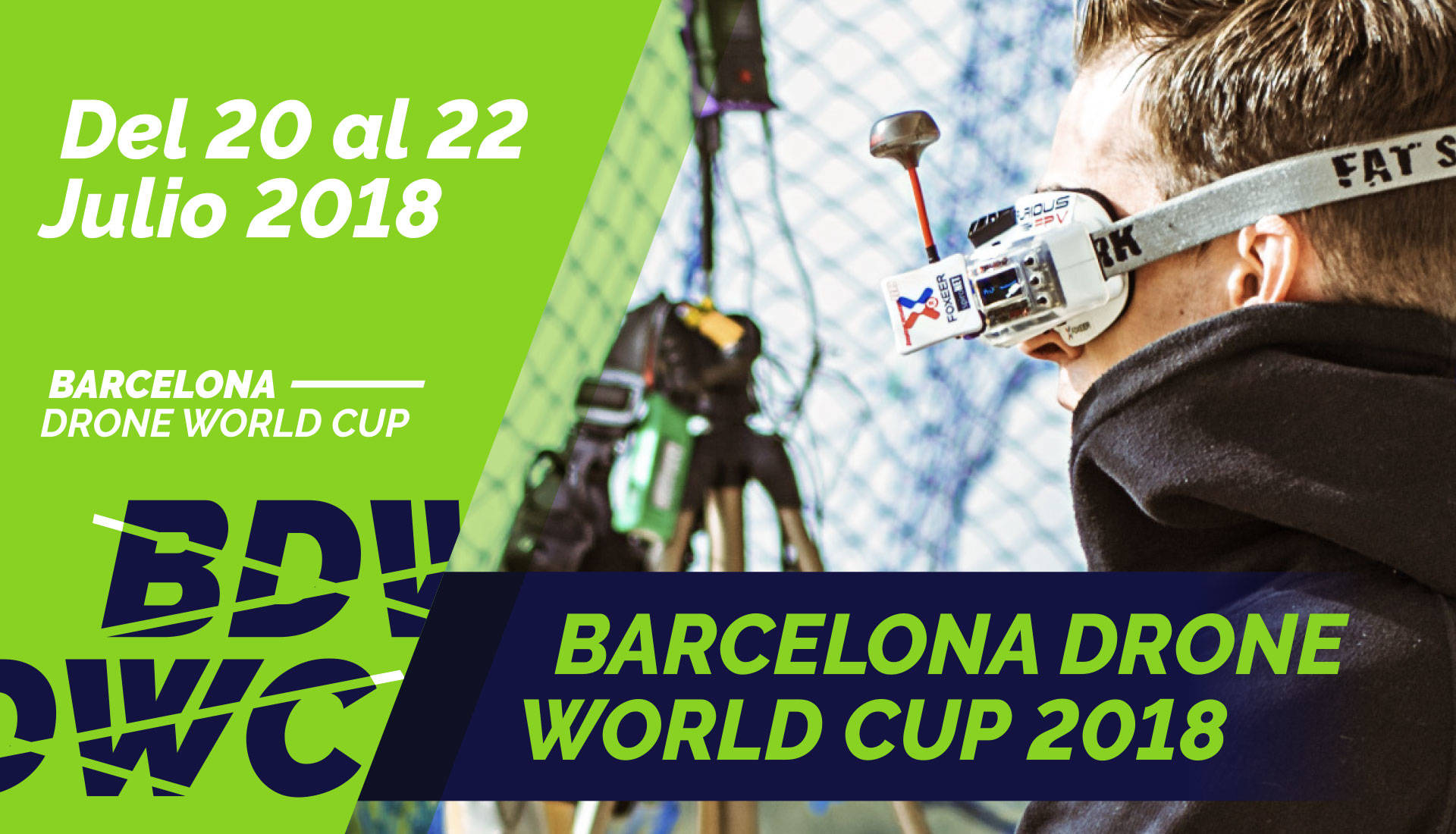 Barcelona Drone World Cup 2018